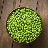 Raw Peas — Stock Photo