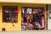 Souvenir Shop in Banos, Ecuador — Stock Photo