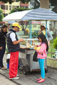 Snack Stand in Banos, Ecuador — Stock Photo