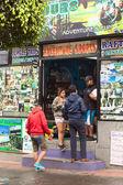 Tour Operator in Banos, Ecuador — Stock Photo