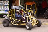 Buggy in Banos, Ecuador — Stock Photo