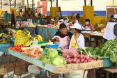 Market in Banos, Ecuador — Stock Photo