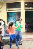 Carnival in  Banos, Ecuador — Stock Photo