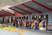 Bus Terminal in Banos, Ecuador — Stock Photo