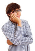 Bored young man — Stock Photo