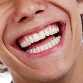 Healthy teeth closeup — Stock Photo