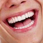 Healthy teeth closeup — Stock Photo
