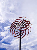 Artistic wind power — Stock Photo