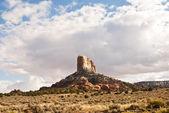Rock formations in Colorado desert — 图库照片