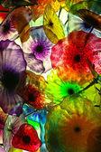 Colorful glass Jellyfish — Stock Photo