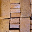Both way bricks — Stock Photo