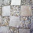 Stock Photo: Square stone shapes in Floor