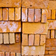 Stacked Bricks - Stock Photo