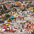 Stock Photo: Pretty colorful buildings in Guanajuato Mexico