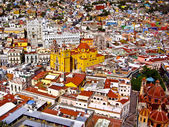 Colorful Mexican Town — Stock Photo