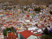 Hillside Town of Guanajuato Mexico — Stock Photo