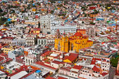 Colonial architecture at its best Guanajuato Mexico — Stock Photo