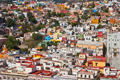 Pretty colorful buildings in Guanajuato Mexico — Stock Photo