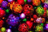 Bright Holiday Balls — Stock Photo