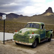 Vintage Green Chevrolet Truck — Stock Photo #18181723