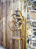 Old Drill Press — Stock Photo