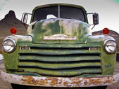 Rusted Old Chevy Truck — Stock Photo