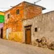 Mexican Grunge Houses — Stock Photo