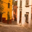 Mexican sidestreet — Stock Photo