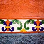 Mexican Color Tiles — Stock Photo