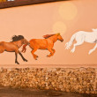 Racing Horses — Stock Photo