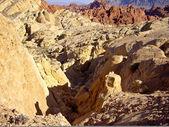 火の谷の石の砂漠 — ストック写真