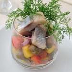 Pantsanella of herring — Stock Photo