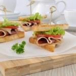 ������, ������: Sandwich with ham