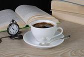 Tid att dricka en kopp kaffe — Stockfoto