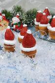 Muffin di natale — Foto Stock