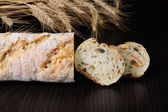 Baguette with cereals — Stock Photo