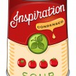 Can of condensed tomato soup Inspiration — Stock Vector #25869373