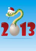 Snake 2013 — Stock Vector