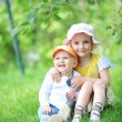 Sister and brother — Stock Photo #11092572
