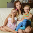 Mother and her children — Stock Photo #12754295