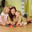 Mother and her children — Stock Photo #13207183