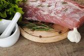 Syrové maso — Stock fotografie