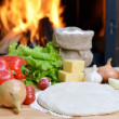 Pizza dough — Stock Photo #13903374