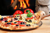 Tasty pizza — Foto Stock