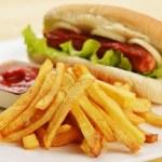 Appetizing hot dog — Stock Photo #14139786