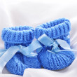 Baby booties — Stock Photo #14811461