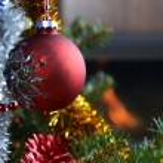 Christmas tree decorations — Stock Photo #15432019
