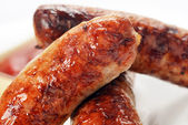 Meat sausages — Stock Photo