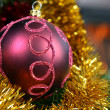 Christmas tree decorations — Stock fotografie