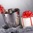 Christmas symbols — Stock Photo